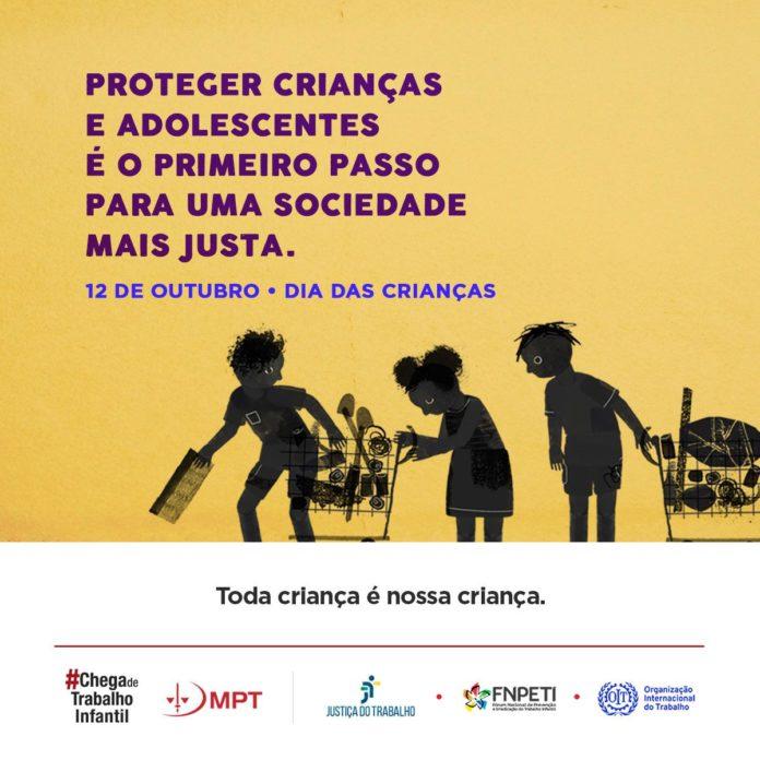 Imagem de Campanha do Ministério Público do Trabalho alerta consequências do trabalho infantil