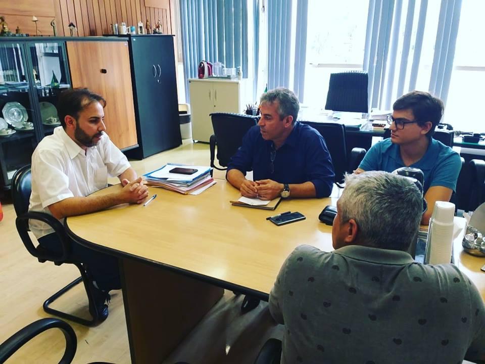Imagem de Sindserv Santo André se reúne com presidência da Câmara para tratar demandas dos servidores