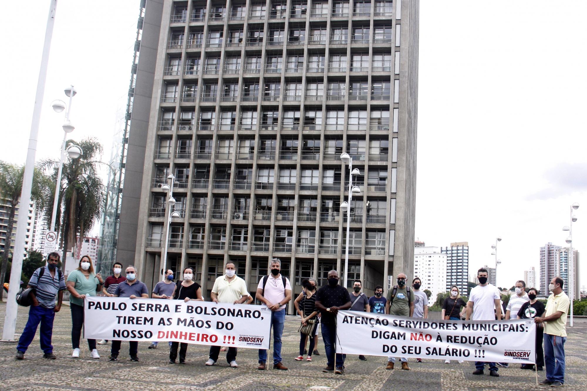Imagem de Confisco nos salários: Sindserv Santo André ingressa com Ação Judicial contra Prefeitura