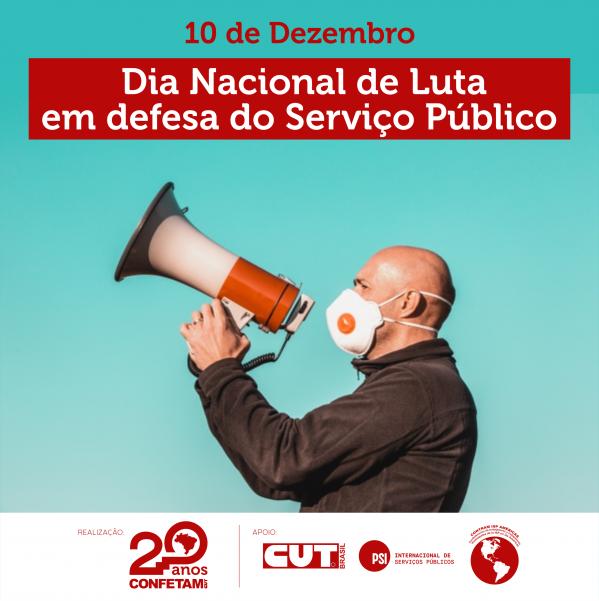 Imagem de 10 de dezembro é Dia Nacional de Luta em defesa do serviço público
