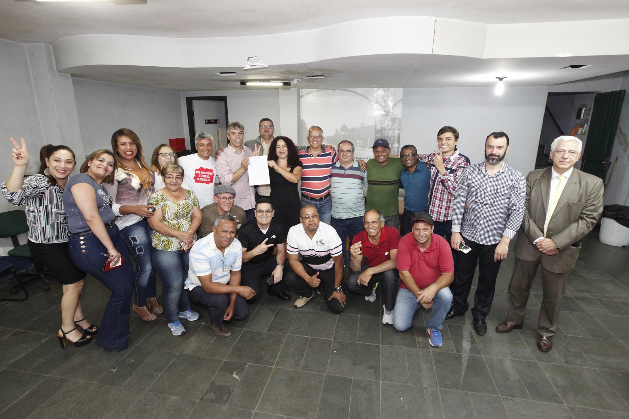 Imagem de Nova Diretoria Colegiada e de Base é empossada no Sindserv Santo André