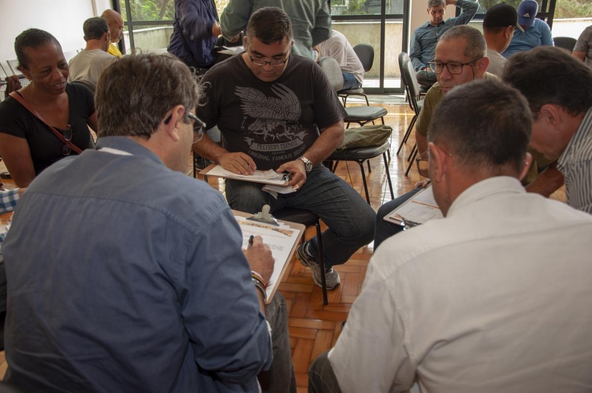 Imagem de Sindserv Santo André e Agentes de Trânsito dão continuidade ao Ciclo de Palestras e debatem estatuto e problemas psicológicos