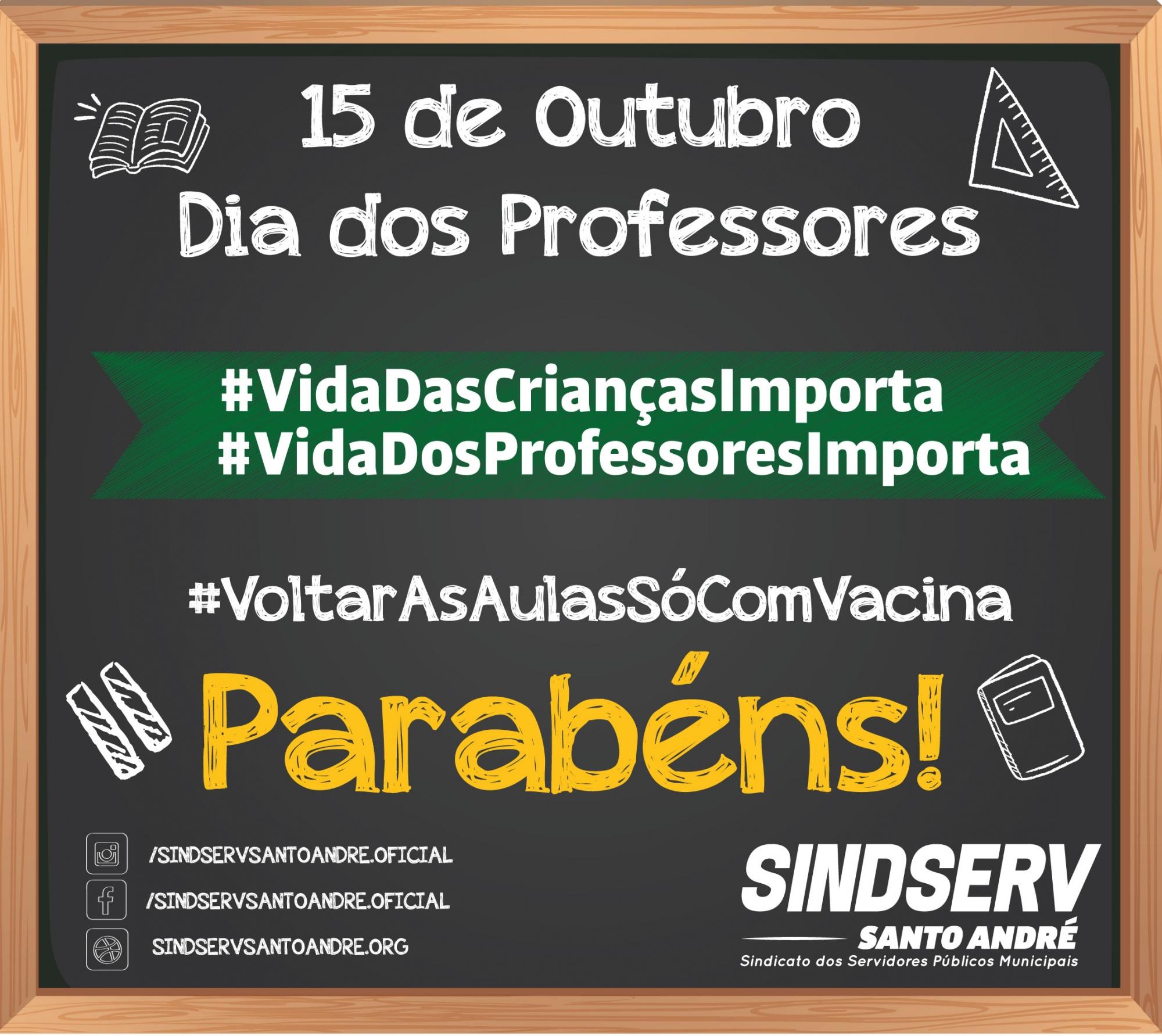 Imagem de Parabéns ao Dia dos Professores e Professoras Andreenses