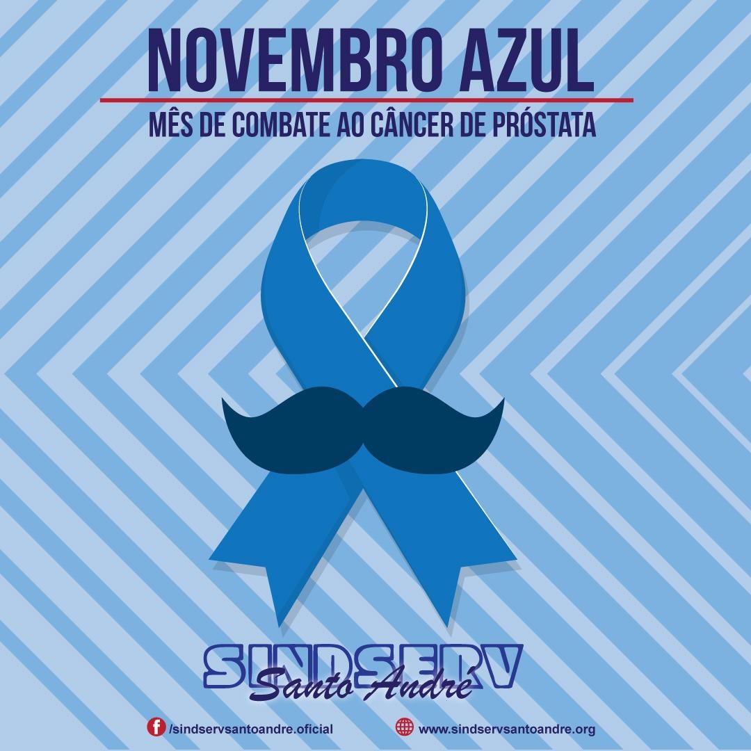 Imagem de Novembro Azul: Sindserv Santo André apoia essa iniciativa