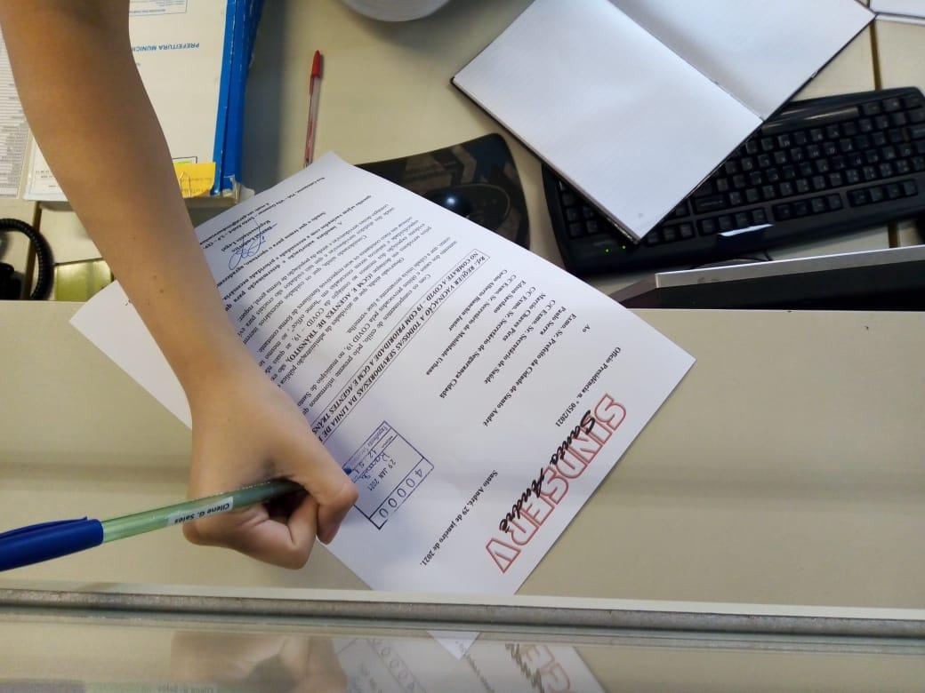 Imagem de Sindserv Santo André pede à Prefeitura vacinação prioritária para GCM e agentes de trânsito