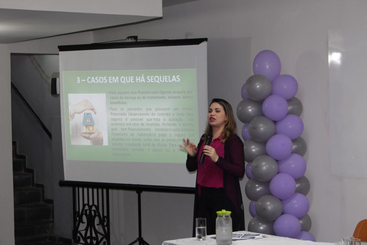 Imagem de Outubro Rosa: Sindserv Santo André realiza palestras sobre prevenção e direitos do paciente com câncer